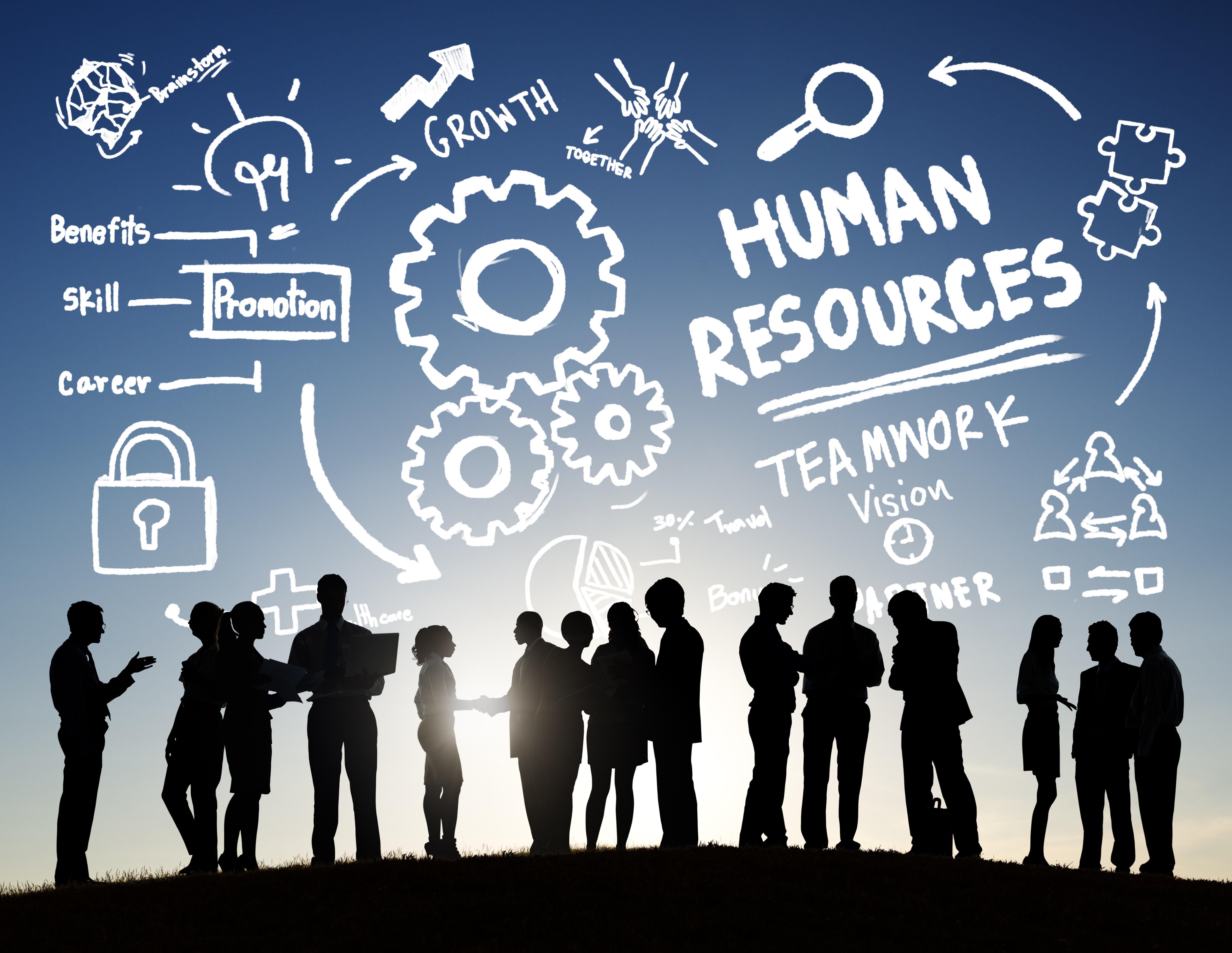 human resource management on employee development Human resource departments typically conduct activities designed to train and develop company personnel, whether to address performance problems or help prepare an employee for a management role.