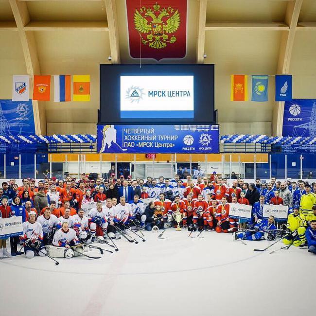 23 февраля. Праздничный хоккей.