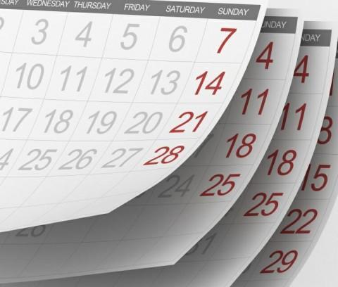 Производственный календарь на 2012 год