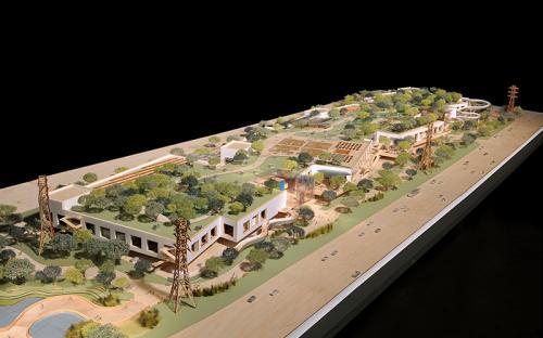 Facebook, новое здание (проект). Калифорния, США