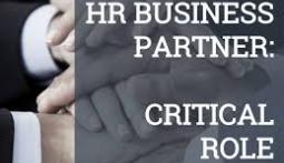 HR Business Partner - Critical Role