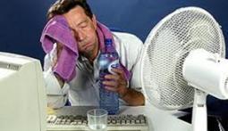 жара в офисе