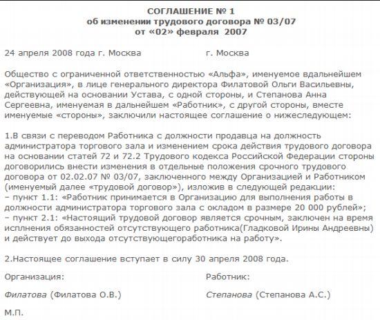 Переход срочного трудового договора в бессрочный пакет документов для получения кредита Хибинский проезд