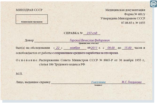 Медицинская справка доноров Прививочная карта 063 у Щёлковское шоссе