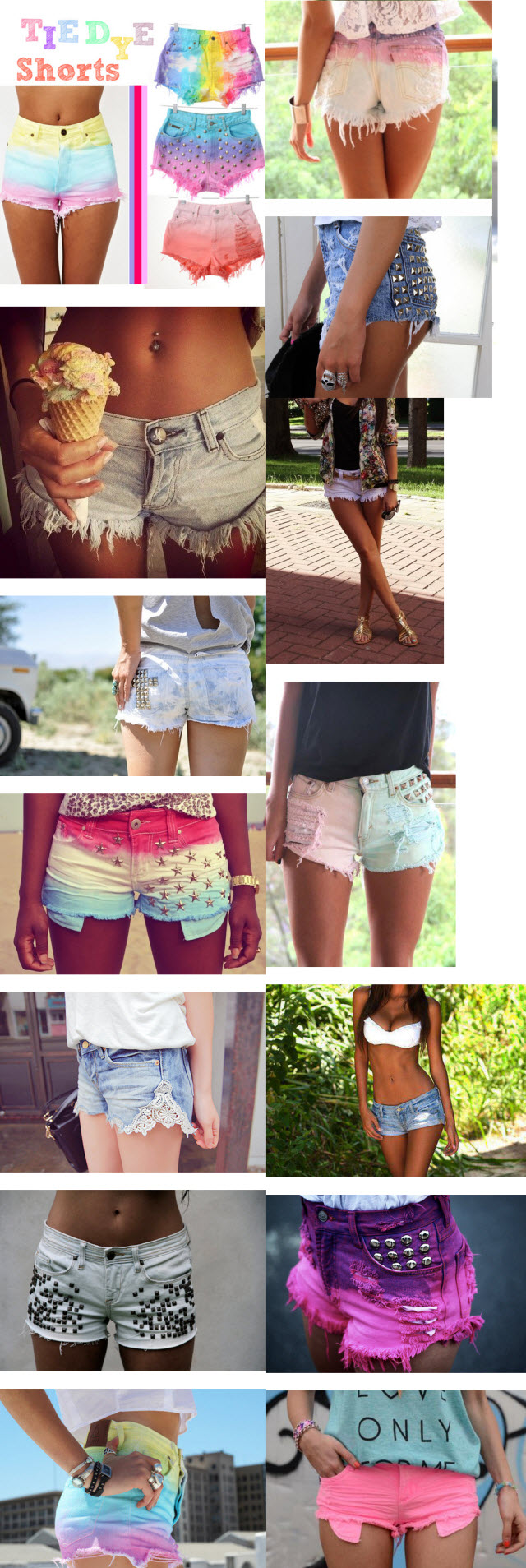 Сделать шорты из джинс своими руками из белых джинс