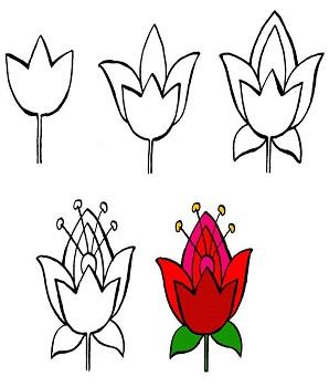 кaк рисовaть цветы мaслом видеоуроки