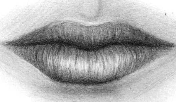 Как научиться рисовать губы?