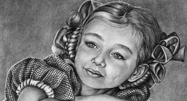 Как научиться рисовать портреты карандашом (видео поэтапно)