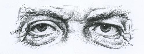 Как научиться рисовать глаза пожилых людей