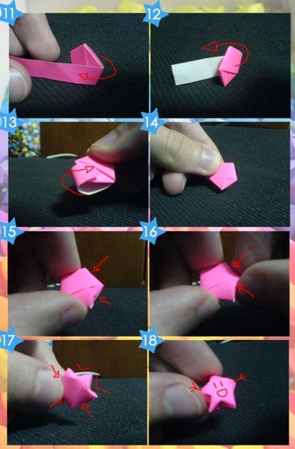 Объёмные звёзды из бумаги своими руками видео