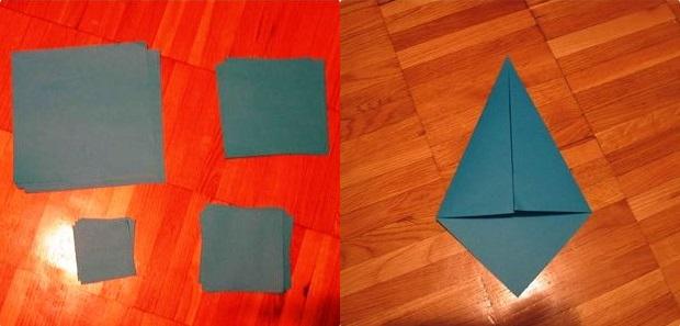 kak-sdelat-iz-bumagi-zvezdu_39 Как сделать объёмную звезду из бумаги и картона своими руками. Шаблоны и схема для объемной звезды своими руками. Как сделать объемную звезду в технике оригами