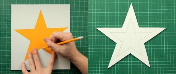 kak-sdelat-iz-bumagi-zvezdu_42 Как сделать объёмную звезду из бумаги и картона своими руками. Шаблоны и схема для объемной звезды своими руками. Как сделать объемную звезду в технике оригами