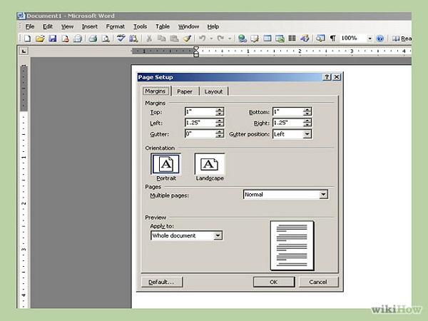 Как сделать поля страницы в ворде 2007